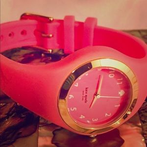Kate Spade New York Watch Rumsey Pink Silicone!